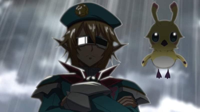 【PSO2アニメ】アイカさんのキャラとラッピーのマグ