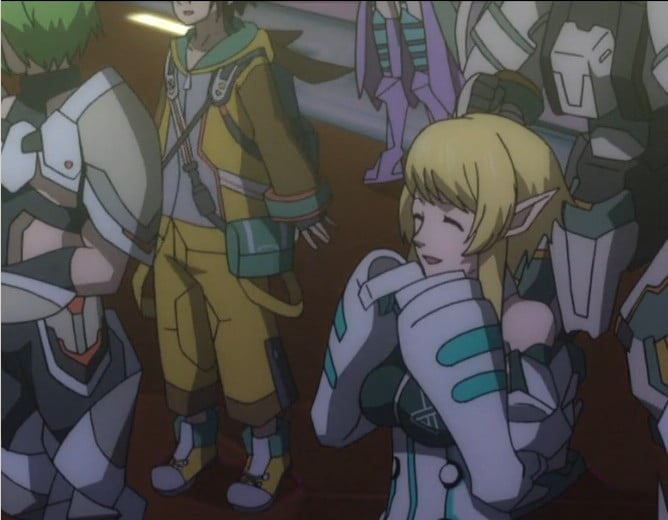 【PSO2アニメ:2話】クーナさんのライブパートでティンクルロビンの子が!