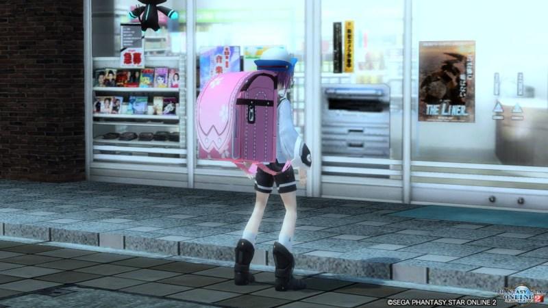 【PSO2】深夜、東京のコンビニ前に佇む小学生
