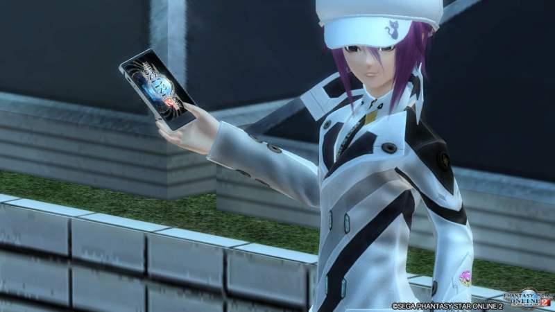【PSO2】アークフォンの画面はPSO2es