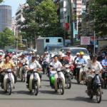タイの原付風景