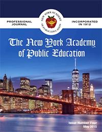NYAPE Professional Journal 2015
