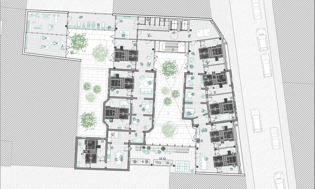 Kumba by Nyasha Harper-Michon, France, Typical floorplan