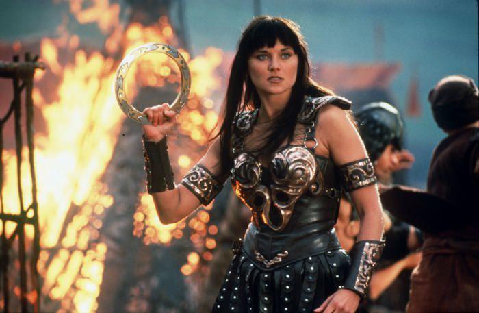 une femme qui combat comme un homme et belle comme une déesse