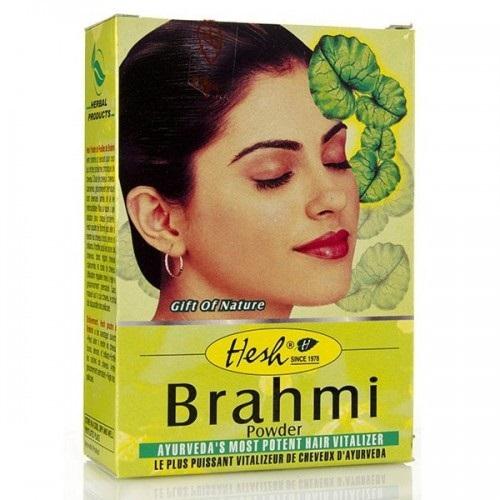 la poudre de brahmi néttoie et donne du volume aux cheveux