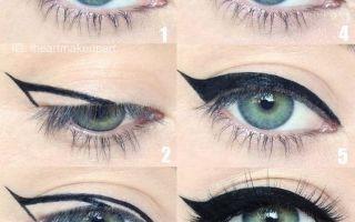 Tracer facilement votre eyeliner avec ces deux techniques