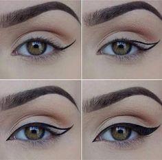 tracé votre eyeliner