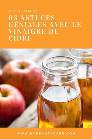 les astuces beautés du vinaigre de cidre et ses vertus