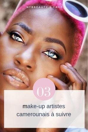 découvre les make-up artistes camerounais