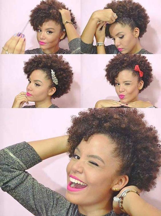 style afro sans rajouts