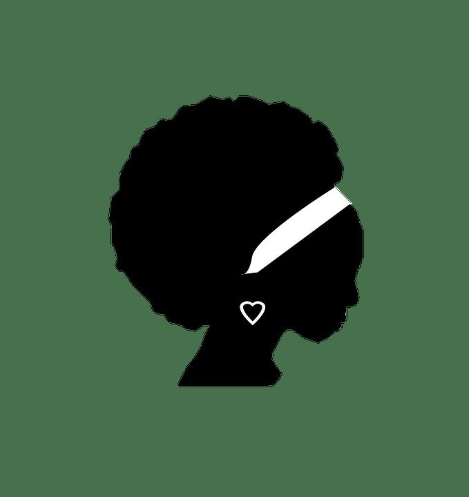 les cheveux crépus et nappy valorise la femme noire
