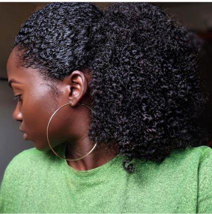 l'hydratation maximale des cheveux crépus