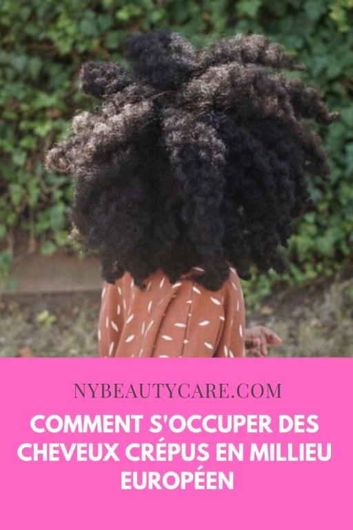 les soins spécifiques aux cheveux en millieu européen