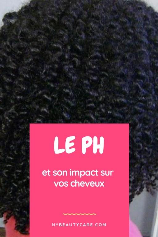 le pH influence sur nos cheveux