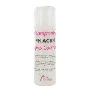 pH du shampoing