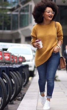 look pull et jeans