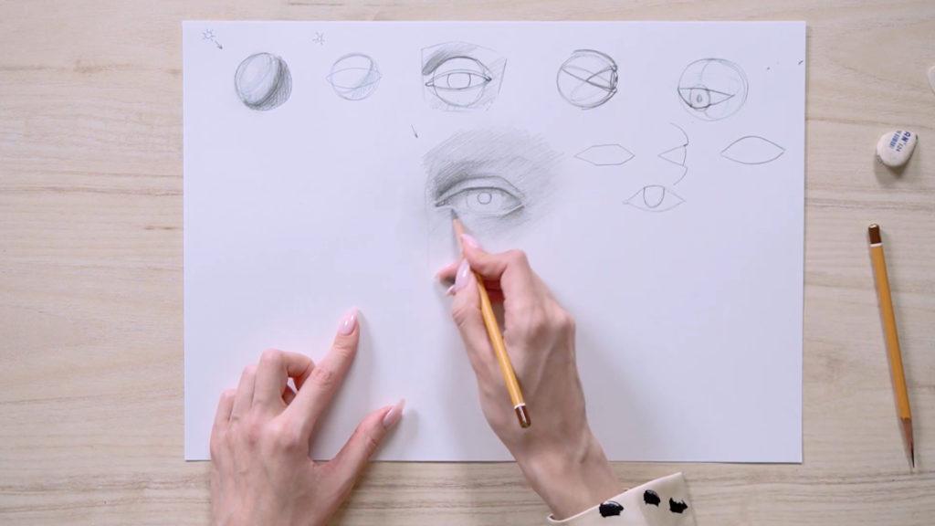 چگونگی جلب چشم با مراحل مداد - مرحله 10 - عکس