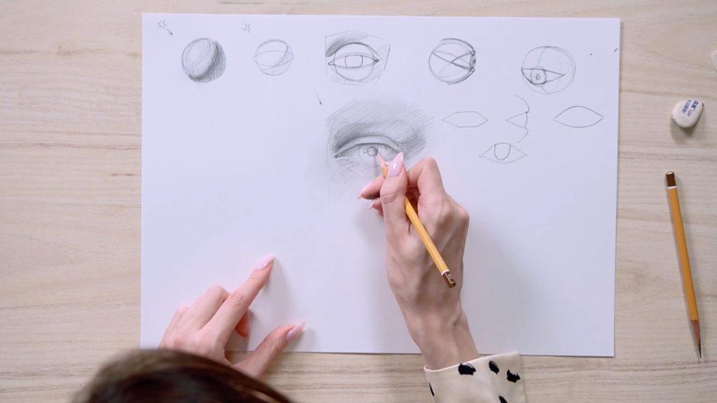 چگونه برای جلب چشم یک مداد phased - مرحله 11 - عکس