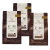 3 x Callebaut chokolade - 2 x moerk og 1 x lys