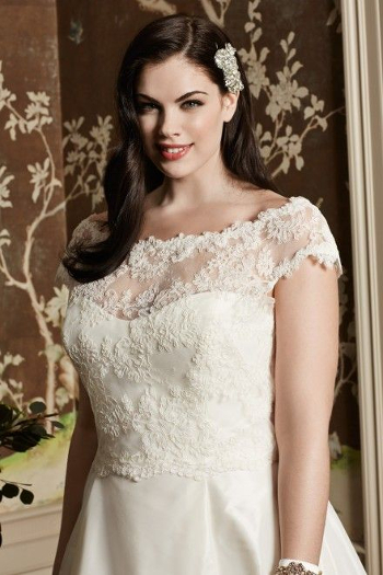 Plus Size Perfection: Wedding Dresses at NYB&amp-G of Raleigh