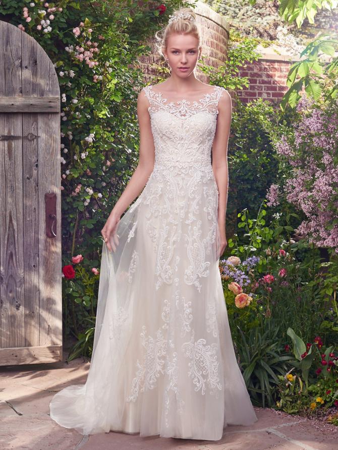 Ravishing value priced wedding gowns from rebecca ingram for Wedding dress rental new york