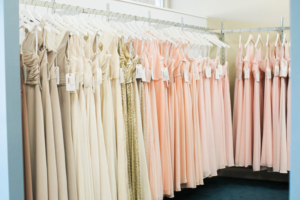 bridesmaid dresses in Raleigh area