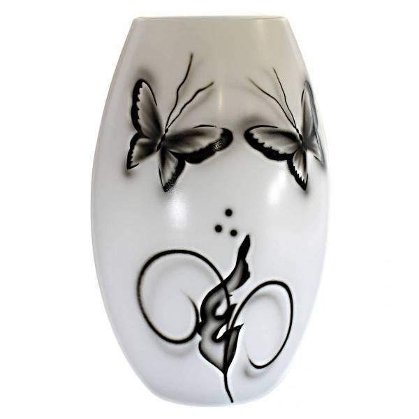 Butterfly Vas svart-vit