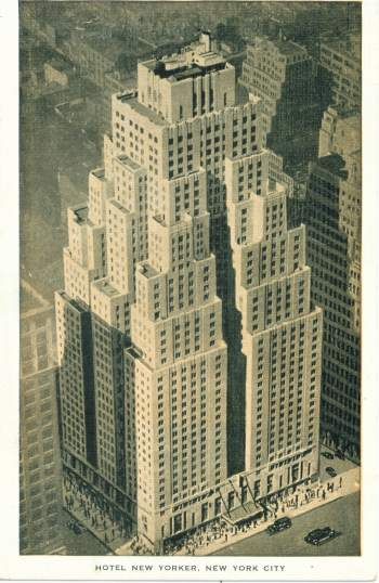 New York Architecture Images New Yorker Hotel