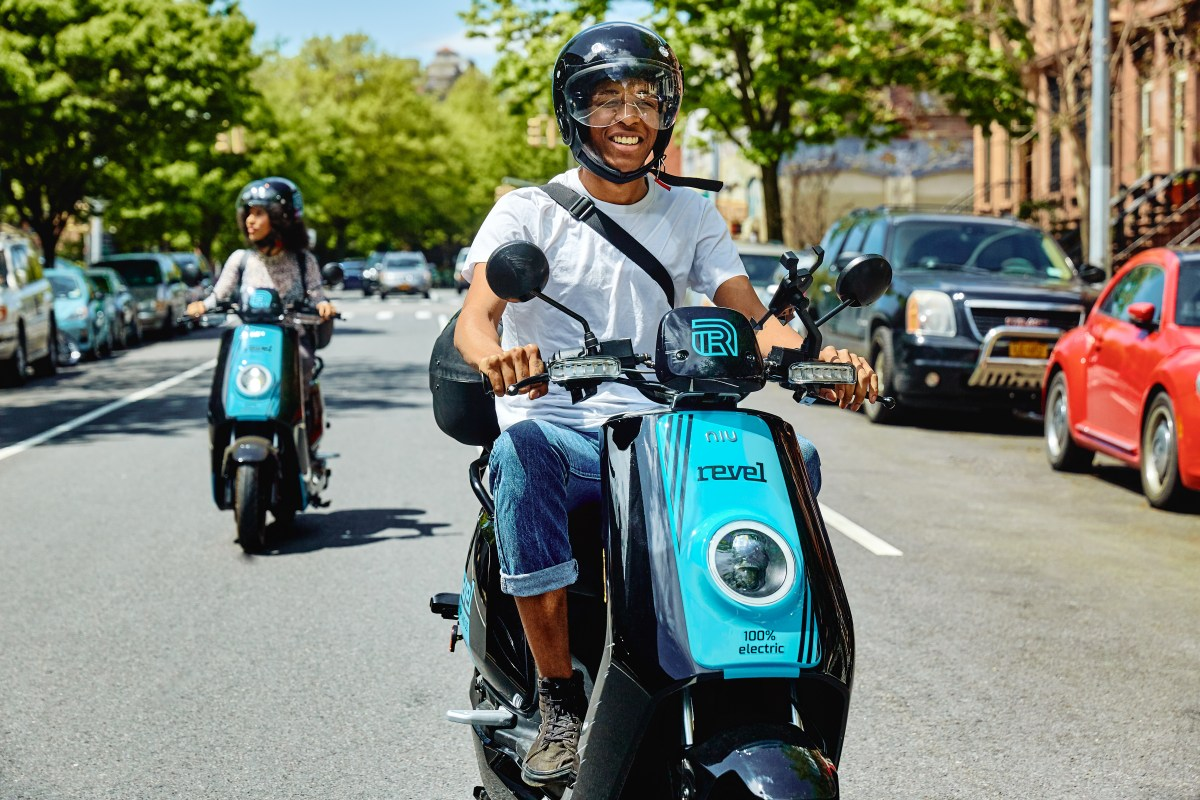 Shared Motor Scooter Company Revel to Expand Into Brooklyn and