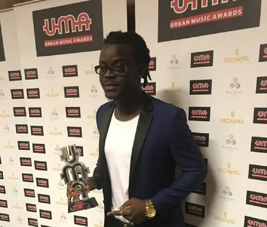 Jupitar wins African Artist of the Year at Urban Music Awards in London