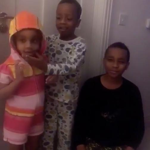 asamoah gyan's children