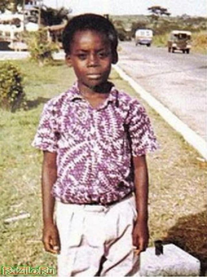 michael essien childhood photo