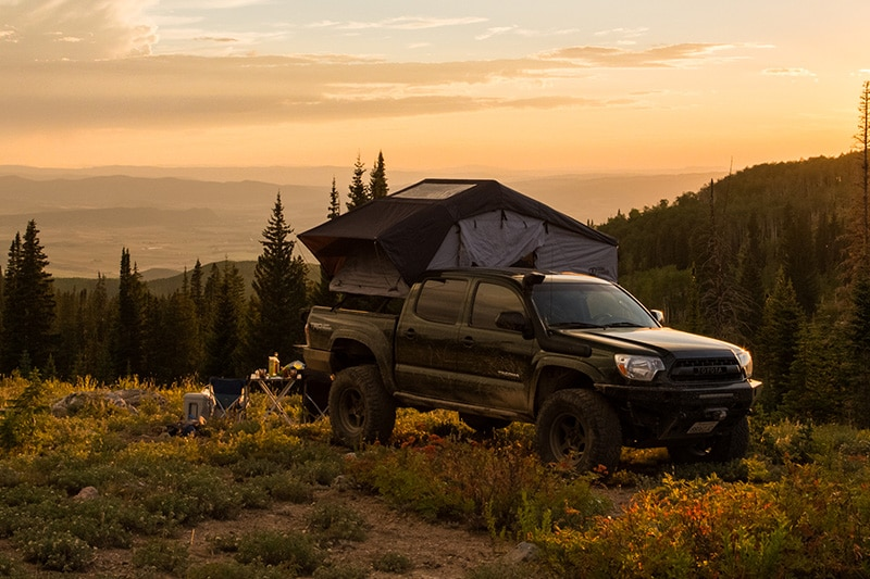 ground tents vs truck bed tents vs