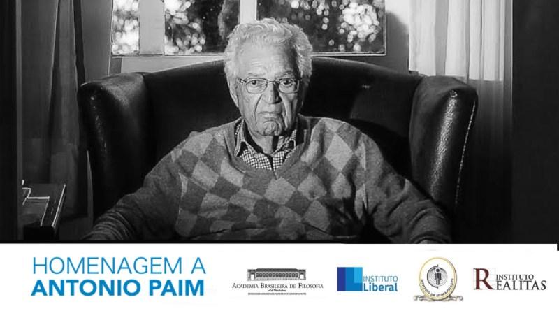 Instituto Liberal integra encontro em tributo a Antonio Paim