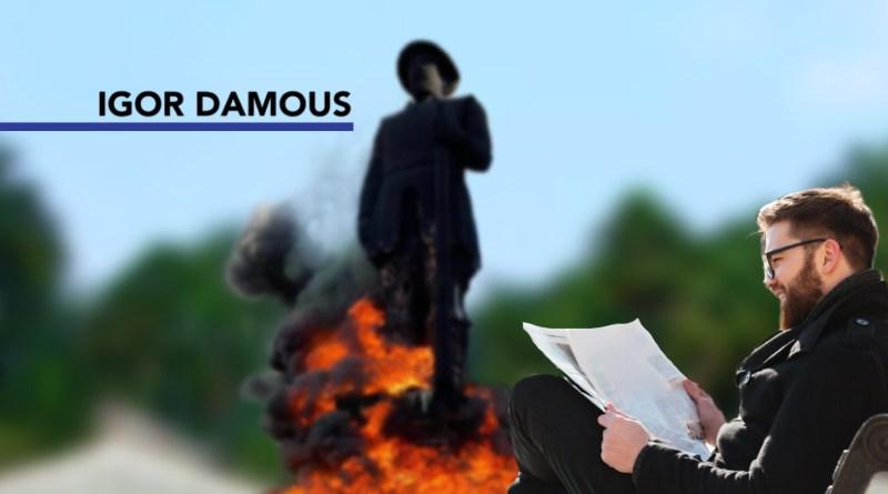 Que derrubem (ou queimem) todas as estátuas…