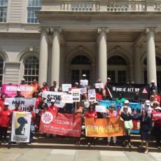 NYC4CEDAW Act Rally