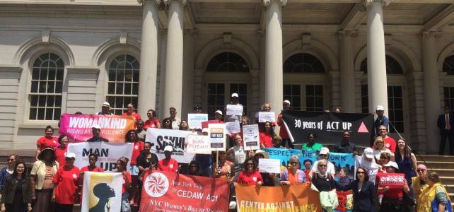 NYC4CEDAW Act Rally