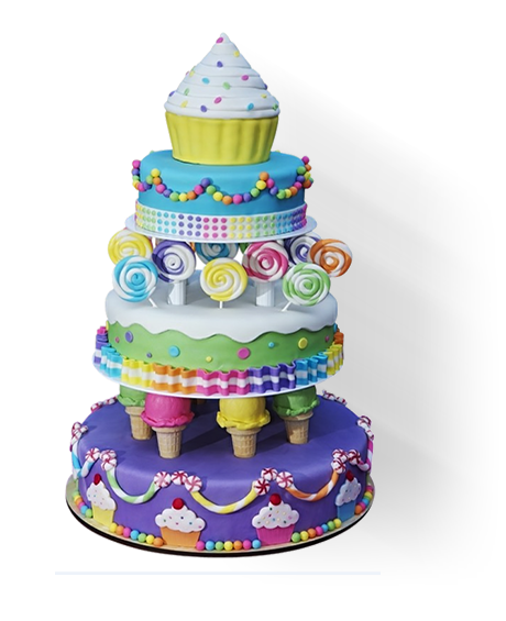 Custom Birthday Cakes In Nyc Delivery Available