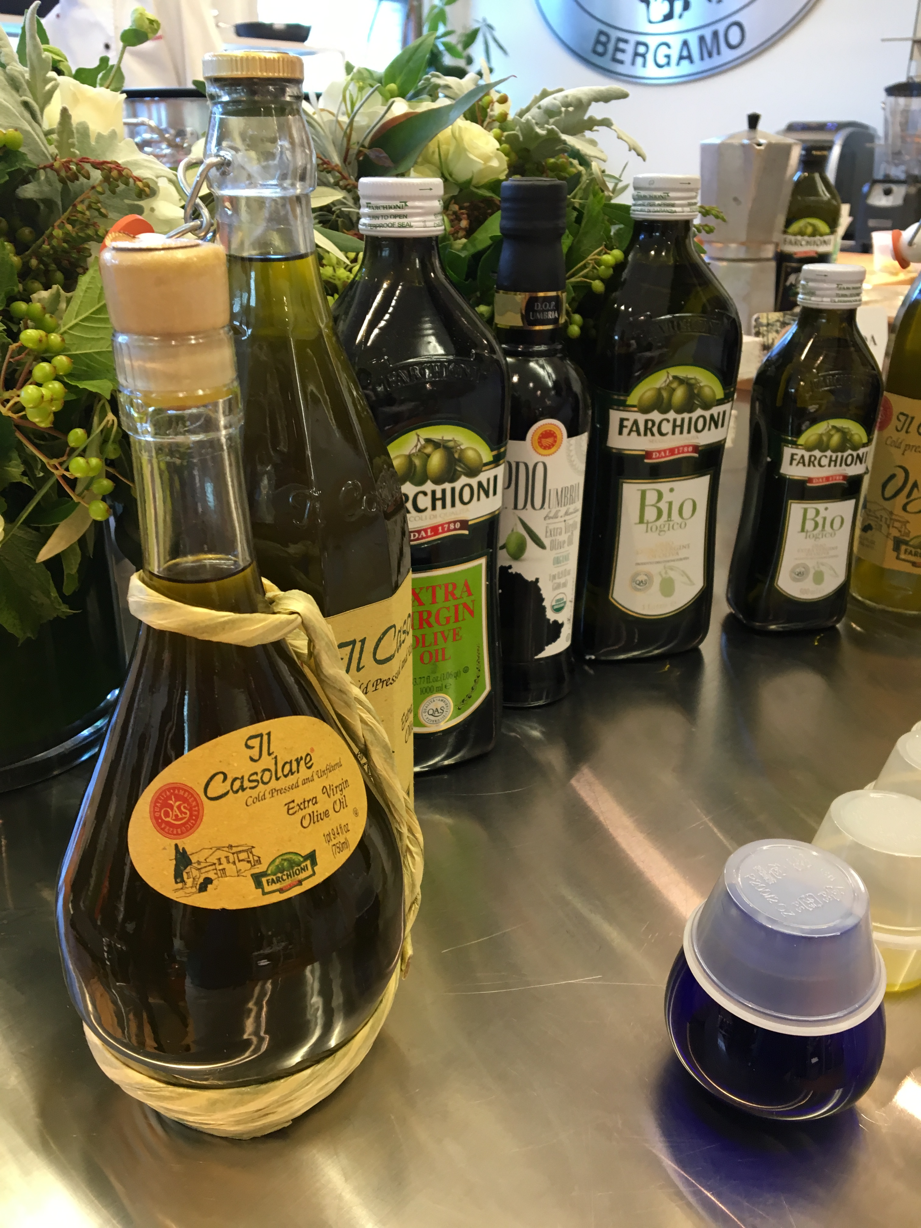 Event: Olio Farchioni – Olive Oil Tasting