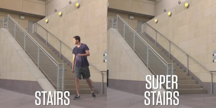 Three-Act Math: Super Stairs