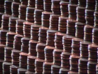 Three-Act Math: Pyramid of Pennies
