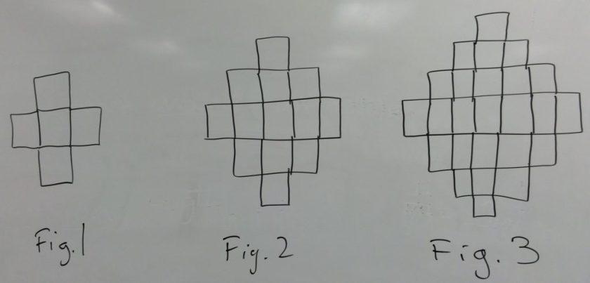 how many line segments 1, 2, 3