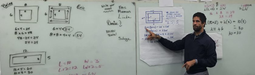 Ramon explains his equation