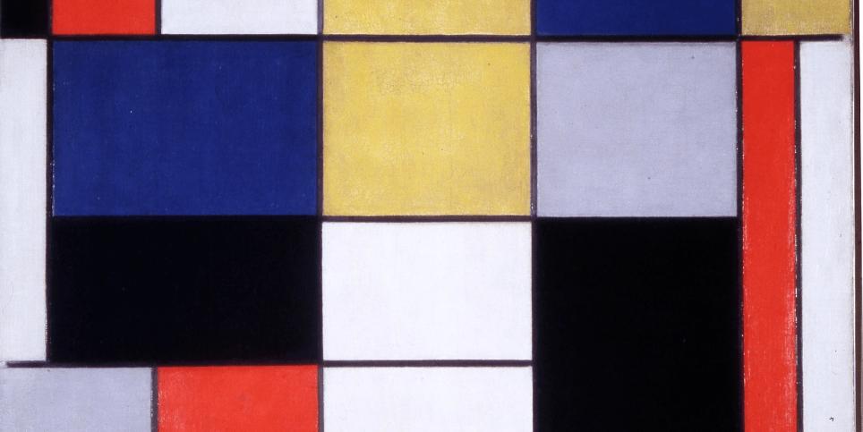 Mondrian Art Puzzle