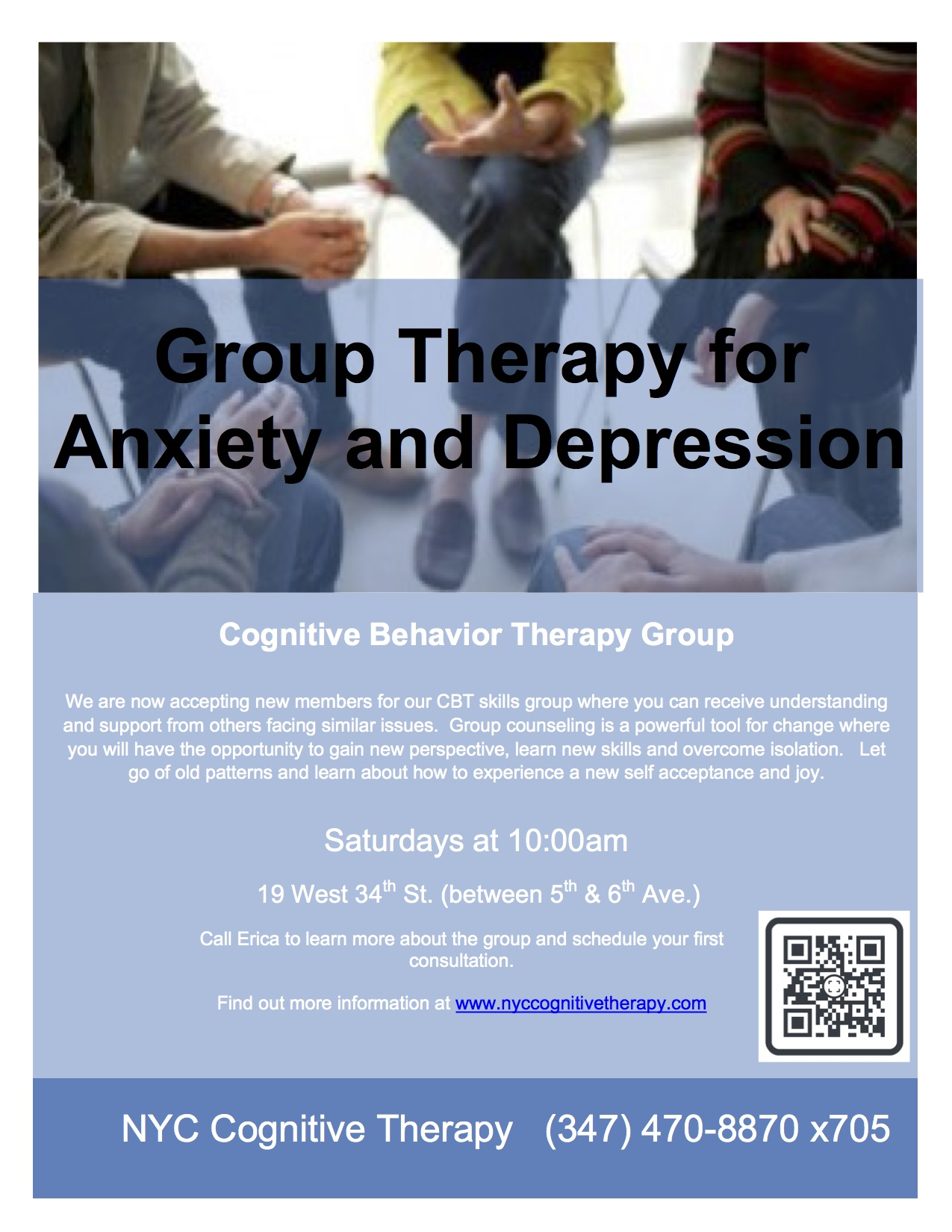 Group Therapy For Anxiety And Depression