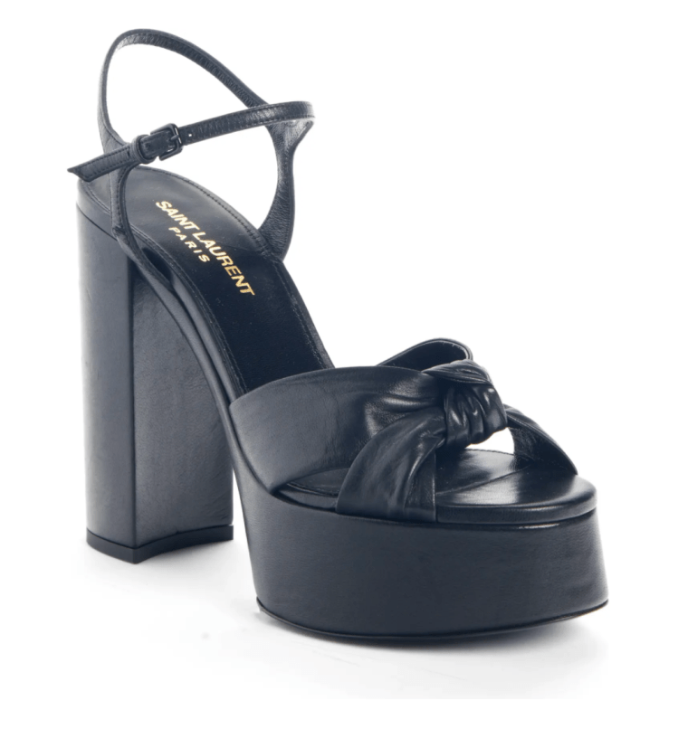 Leather platform sandal on mistress blunt's wishlist