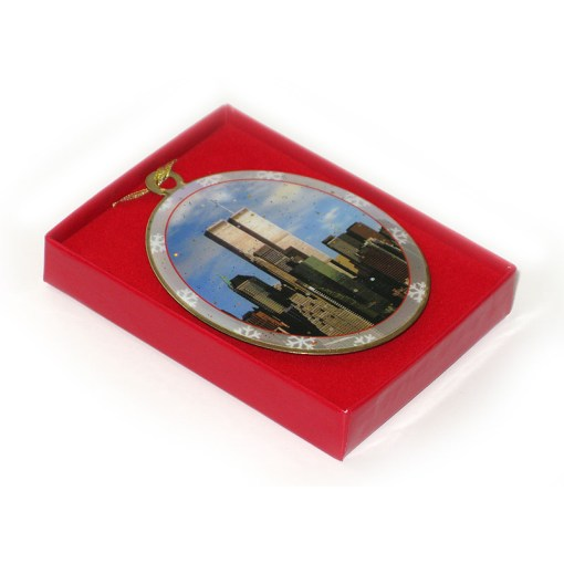 World Trade Center New York Christmas Ornament in a Gift Box