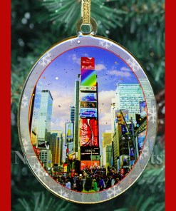 Times Square North New York Christmas Ornament from NY Christmas Gifts
