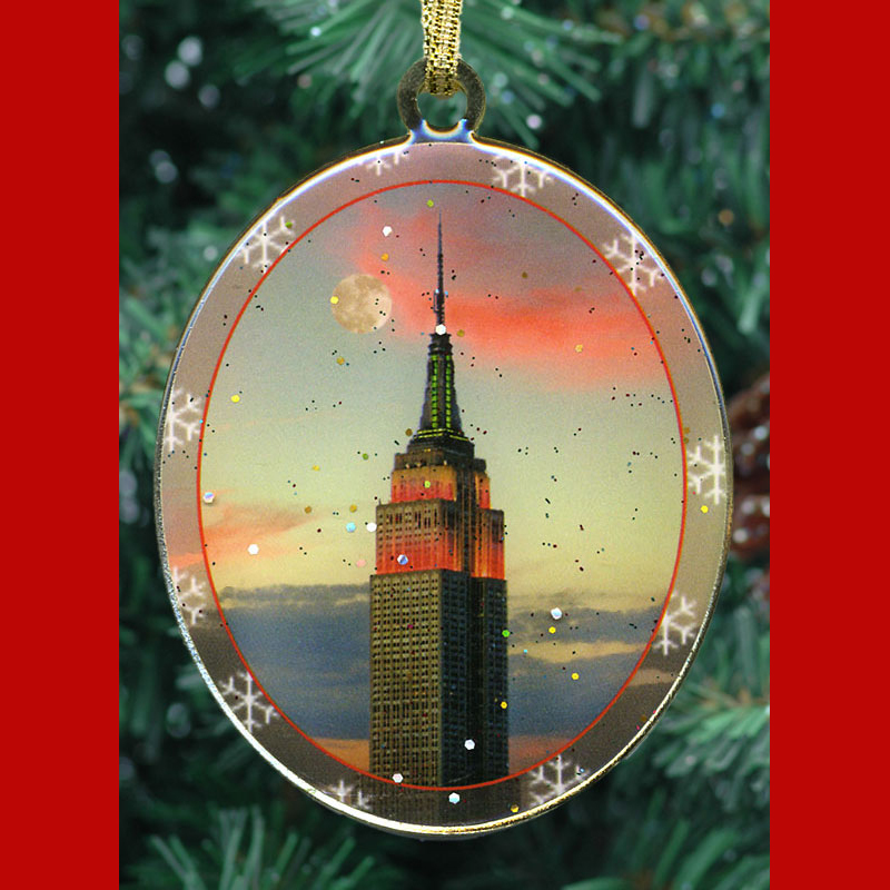 Empire State Building New York Christmas Ornament from NY Christmas Gifts