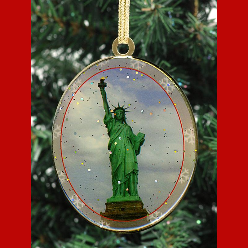 New York City Landmarks - Christmas Ornaments Gift Set ...